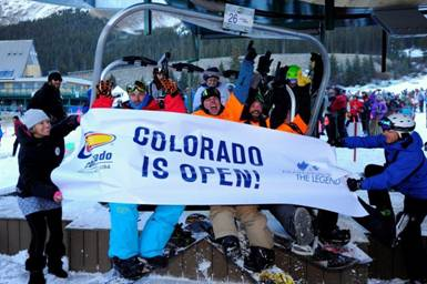 A-Basin kicks off 2013-14 ski season; Loveland set to open Thursday