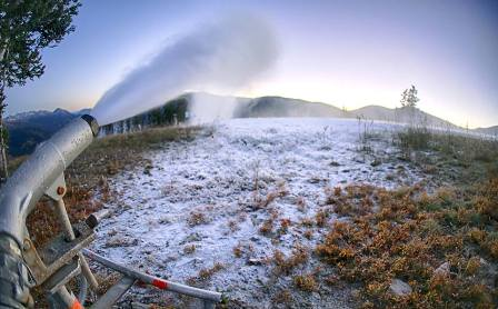 Copper starts snowmaking as Olympians look to get jump on training for Sochi