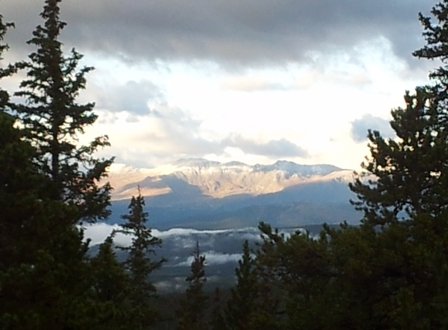 Snow coats high peaks around Vail, Beaver Creek